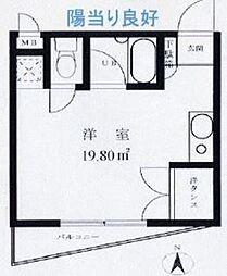 ウイングコート久米川[4階]の間取り