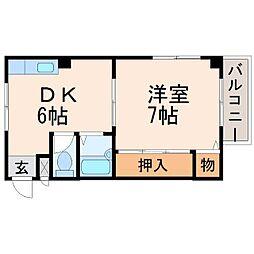 マルニ甲子園[1階]の間取り