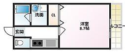 lucia casa[1階]の間取り