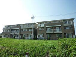 三重県津市庄田町の賃貸アパートの外観