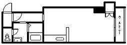 ニューフロンティア永山[2階]の間取り