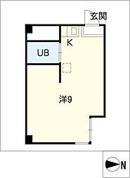 大須WEST[5階]の間取り