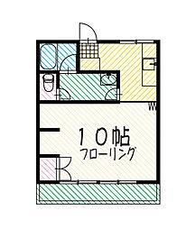 東京都武蔵村山市学園4丁目の賃貸マンションの間取り