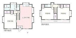 [一戸建] 神奈川県座間市ひばりが丘2丁目 の賃貸【/】の間取り