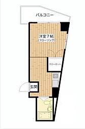 杉山マンション[3階]の間取り