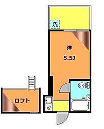 経堂ポイントウエスト[1階]の間取り