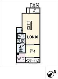 ネクストステージ II[1階]の間取り