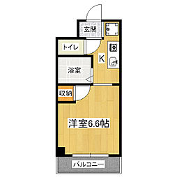 Stable伏見竹田[3階]の間取り