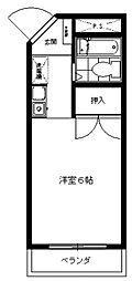 三田1092[302号室号室]の間取り