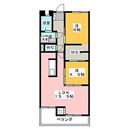 第3丸柴ビル[3階]の間取り