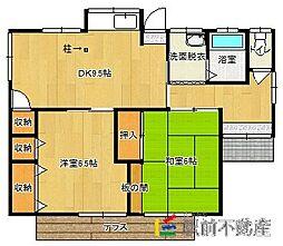 [一戸建] 福岡県古賀市天神4丁目 の賃貸【/】の間取り