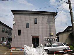 秋田県大仙市花館上町の賃貸アパートの外観