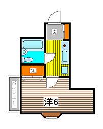 TOP北浦和[4階]の間取り