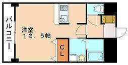 ローリス飯塚[2階]の間取り