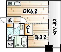 No.71 オリエントトラストタワー[7階]の間取り