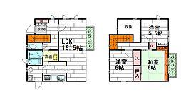 [一戸建] 大阪府豊中市上野東1丁目 の賃貸【/】の間取り