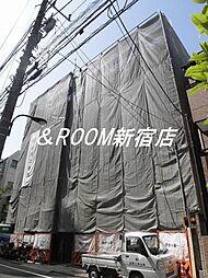 東京都新宿区早稲田町の賃貸マンションの外観