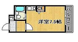 大阪府高石市取石2丁目の賃貸アパートの間取り