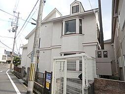 大阪府茨木市戸伏町の賃貸アパートの外観
