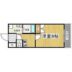 フェニックス東大阪II[3階]の間取り