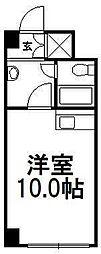 セザール第一札幌[4階]の間取り