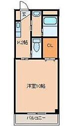 Sento・sa輝[1階]の間取り