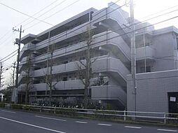 東京都羽村市羽東2丁目の賃貸マンションの外観