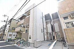 大阪府大阪市城東区新喜多東1丁目の賃貸アパートの外観