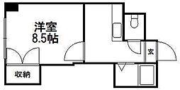 コスモス菊水[0902号室]の間取り