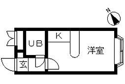 ベルピア・馬橋第4[2階]の間取り