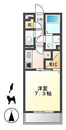 D−room岩塚[1階]の間取り