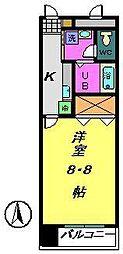 都町小川マンション[1階]の間取り
