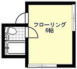 ウィズダムフォート[206号室]の間取り