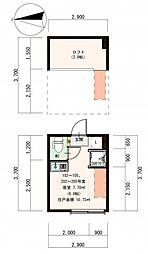 (仮称)豊島デザイナーズ賃貸コーポB[103号室]の間取り