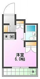 ひまわり館[2階]の間取り