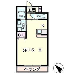 Cygnus・n[2階]の間取り