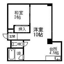 パレスマンション[7階]の間取り