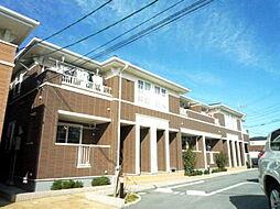 愛知県岡崎市丸山町字清水の賃貸アパートの外観