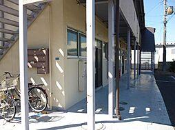 滋賀県東近江市青葉町の賃貸アパートの外観