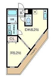 ドリームコート金沢八景[1階]の間取り