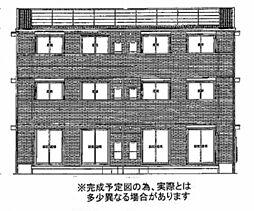 フェリオ小野A棟[3階]の外観