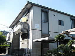 神奈川県横浜市港北区綱島西2丁目の賃貸アパートの外観