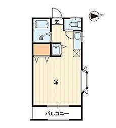 コーポエクセレント三宅2[103号室]の間取り