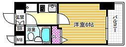 エスリード野田駅前[7階]の間取り