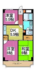 セレブラール戸田[2階]の間取り