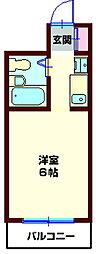 YOKOHAMA TRADITIONAL VIEW[101号室]の間取り