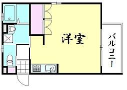 THE PLAZA 東上町[4階]の間取り