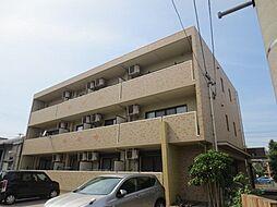 愛知県名古屋市中川区川前町の賃貸マンションの外観