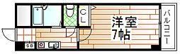 ノルデンハイム相川[5階]の間取り