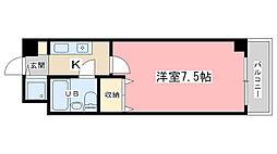 四ノ宮コート[503号室]の間取り